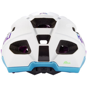 Kali Pace SLD Helm, matt white/blue/purple